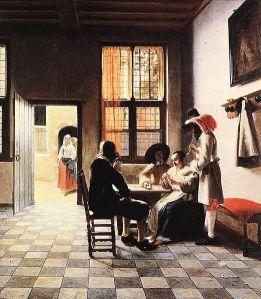 522px-Pieter_de_Hooch_-_Cardplayers_in_a_Sunlit_Room
